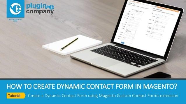 how to create magento website