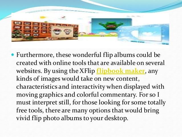 How to create flip albums online free Slide 3