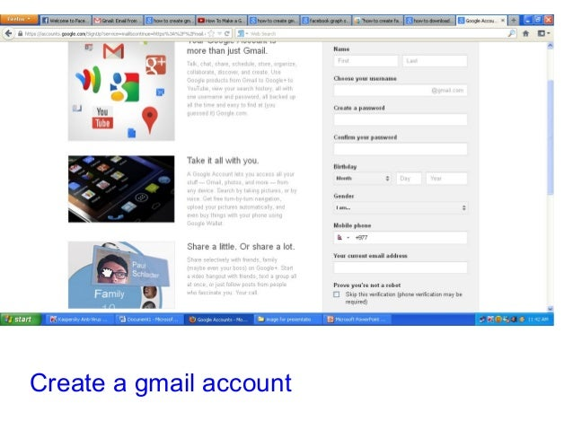 create mail