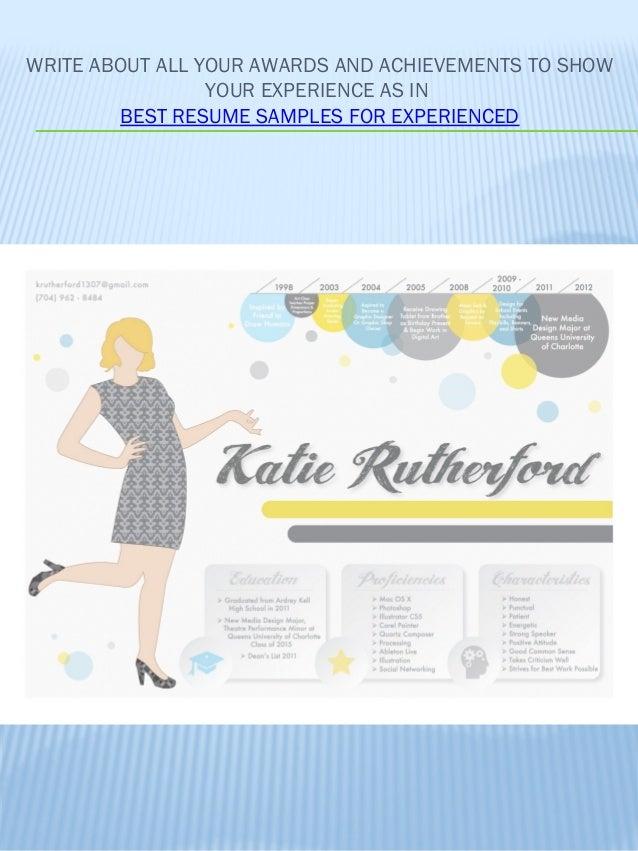 how to create good resume
