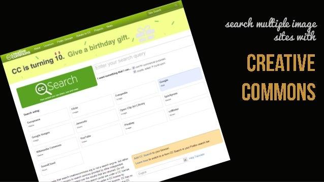 but remember the creative commons                                    Image via VinothChandar