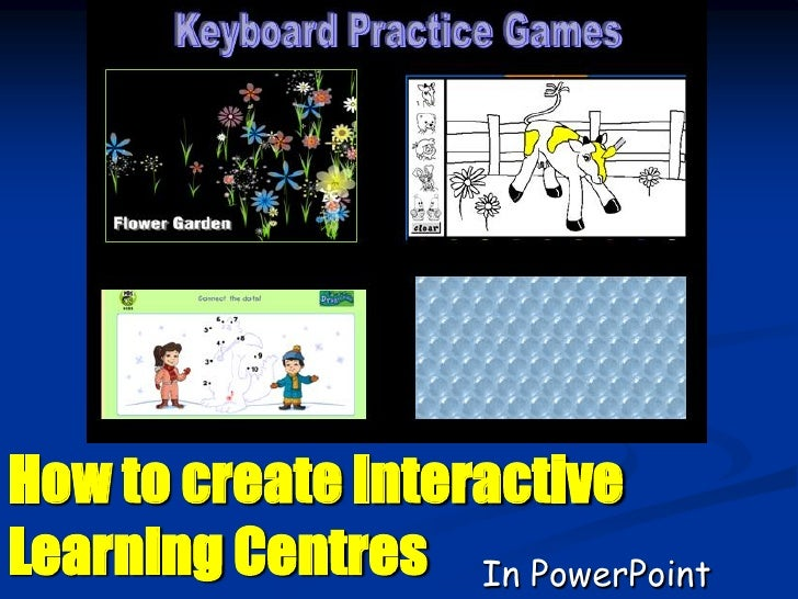 How to create Interactive Learning Centres In PowerPoint