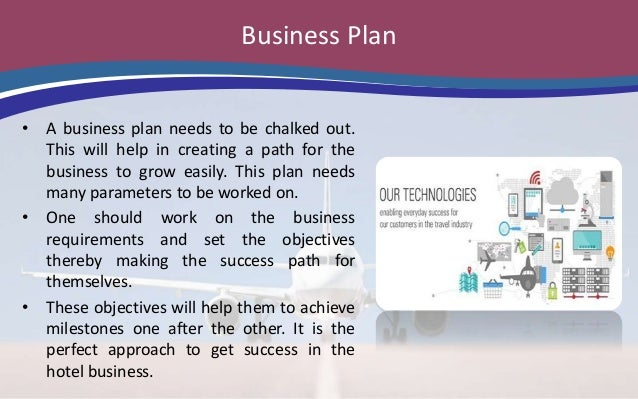 Hotel booking business plan
