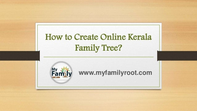 how to create family tree
