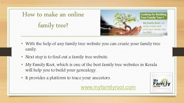 How to create online kerala family tree