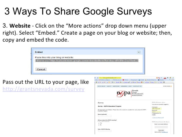 How To Create Online Surveys In Google Docs