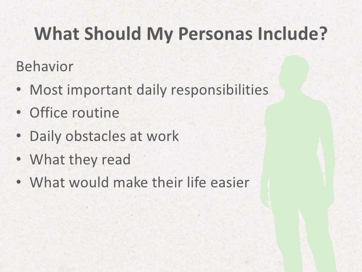 how to create personas marketing