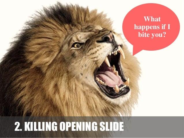 Sample of mainstream opening slide by : presenter Boring? I feel it too !!