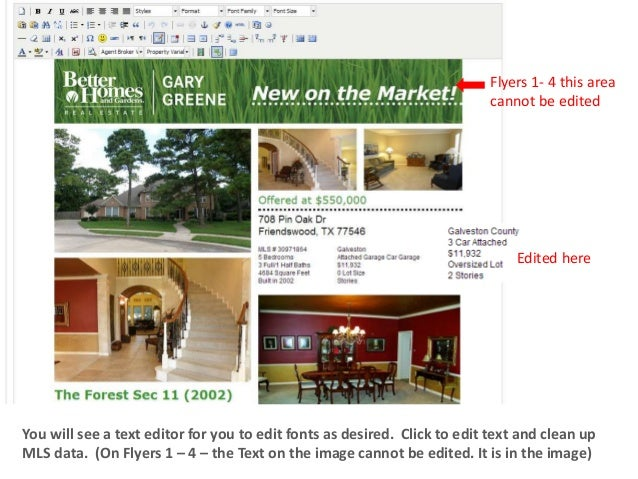 property flyers real estate