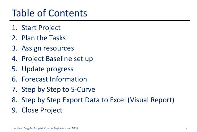 How to create S-Curve by MS Project 2013