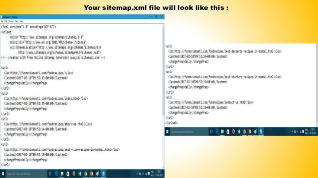 how to create sitemap for website