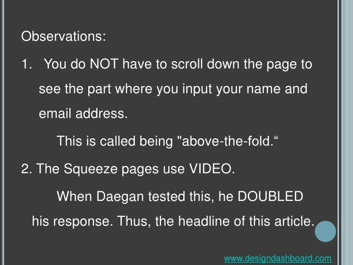 how to create a squeeze page on facebook