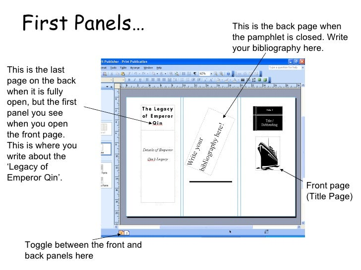 How to create the ideal information pamphlet