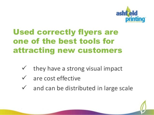 how to create the perfect business flyer 2