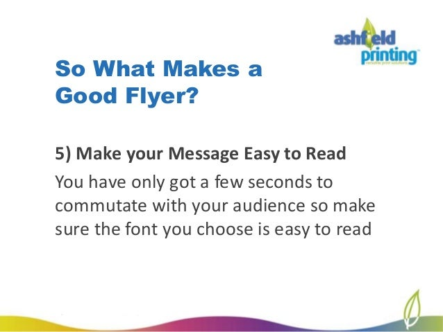 how to create a business flyer