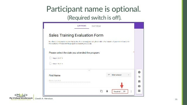 How To Create Training Feedback Survey In Google Forms