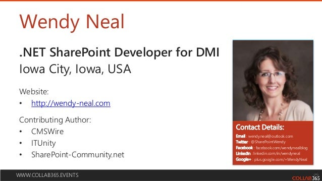 How to create user friendly, engaging share point sites (no coding needed!) Slide 2