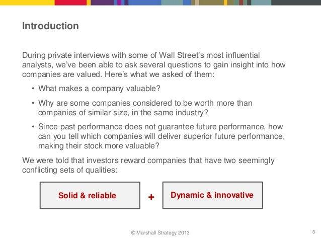 How to Create a Valuable Company Slide 3