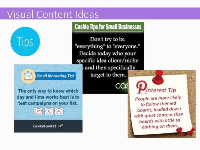 Photos  Visual Content Ideas