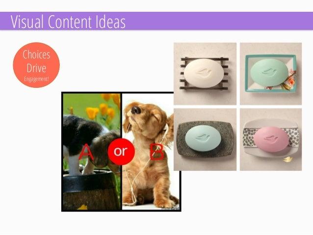 Checklists  Visual Content Ideas