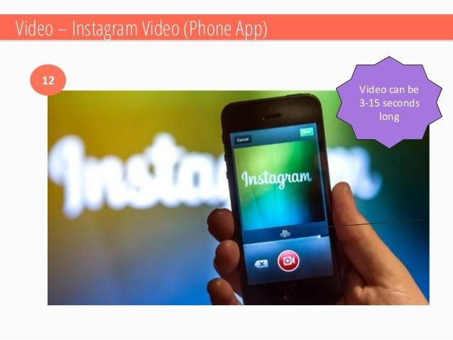 Video –Vine Phone App  13