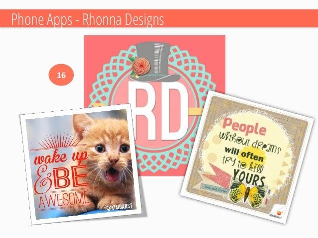 Phone Apps –Best for last…WORDSWAG!  17