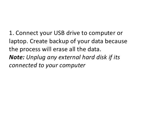 how to create windows 10 bootable usb from