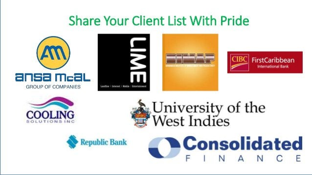 Share Your Client List With Pride