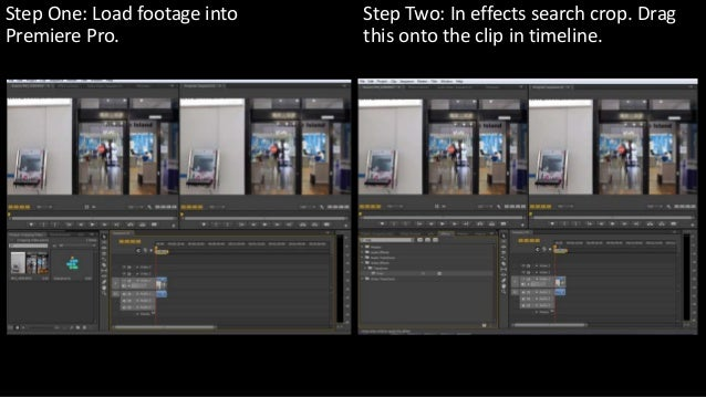 How to crop a video in Adobe Premiere Pro CS6