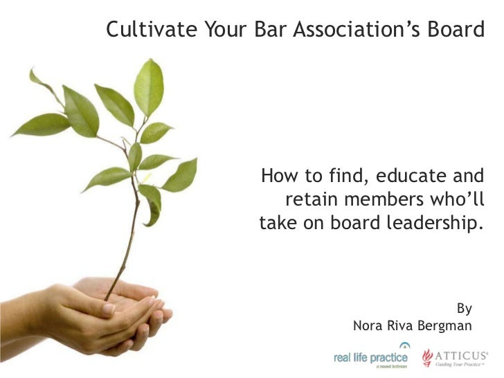 How To Cultivate A Great Bar Association Board
