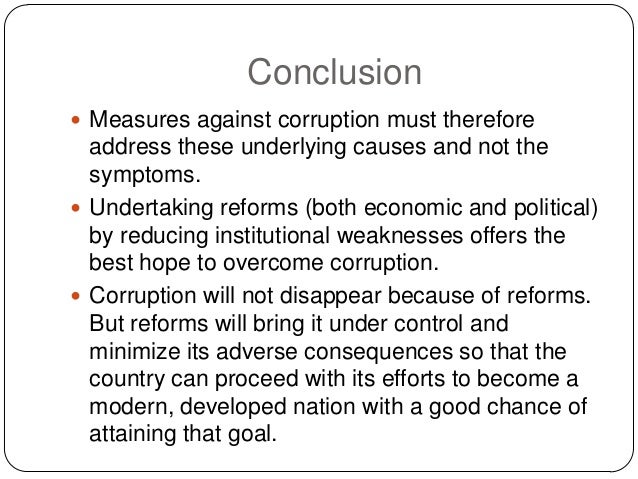 how corruption can be minimized in Be familiar with some examples of how corruption can be minimized with regards   it also looks at how corruption in relation to hiv/aids can.