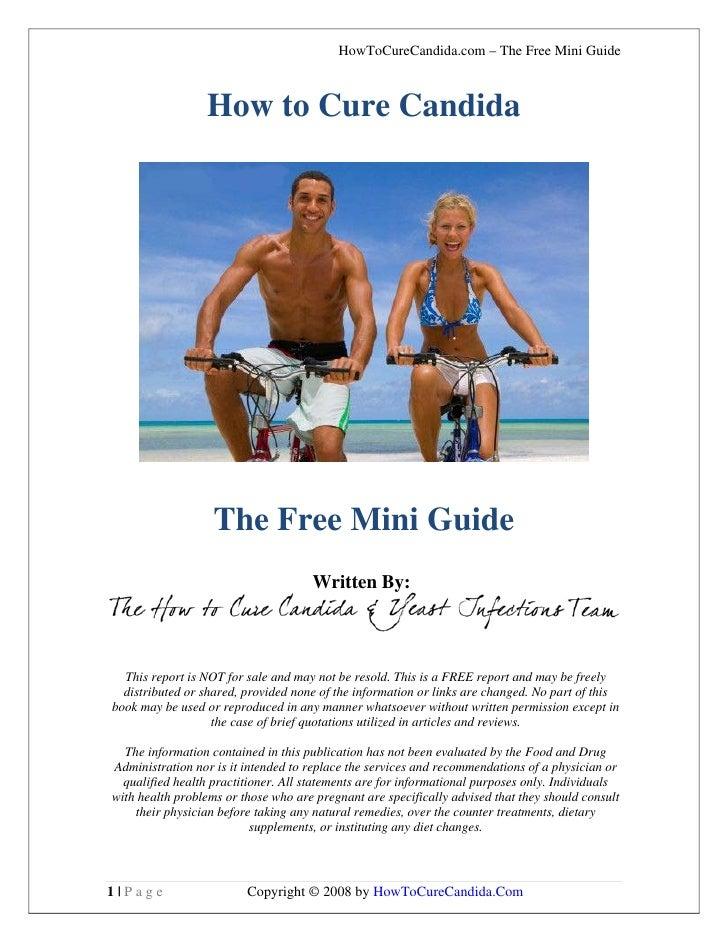 HowToCureCandida.com – The Free Mini Guide                     How to Cure Candida                        The Free Mini Gu...
