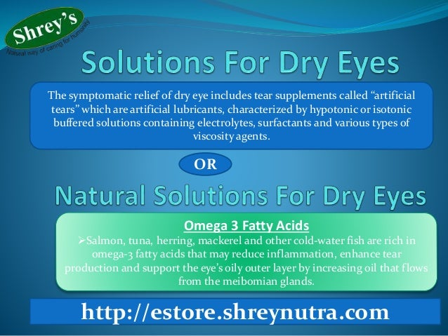 how to stop dry eyes naturally