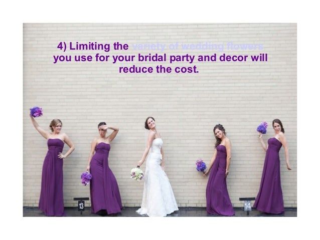 how to cut costs on your wedding flower budget