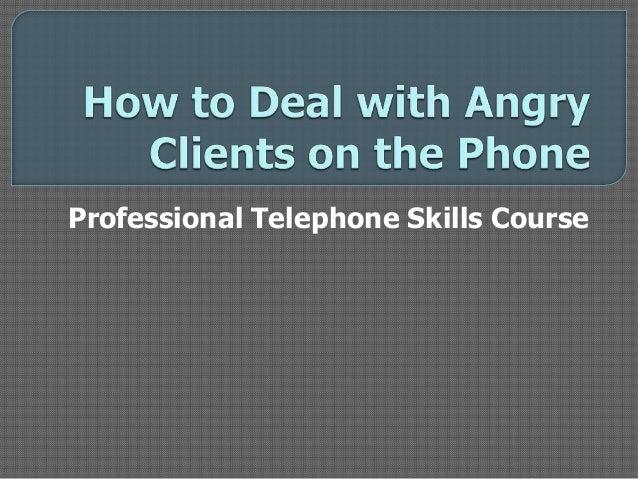 Professional Telephone Skills Course