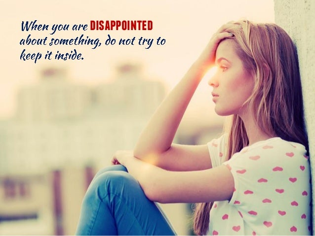 How To Overcome Disappointment In A Relationship