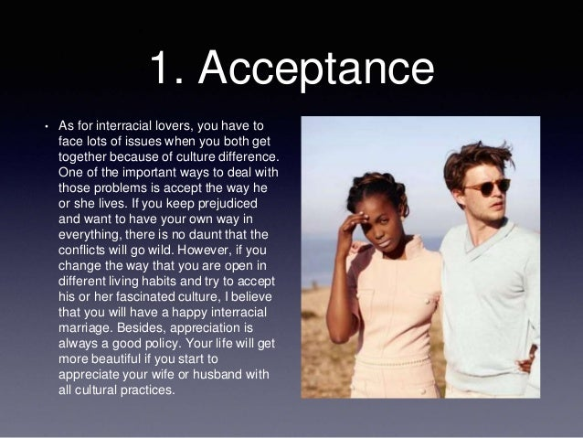 Problem with interracial dating