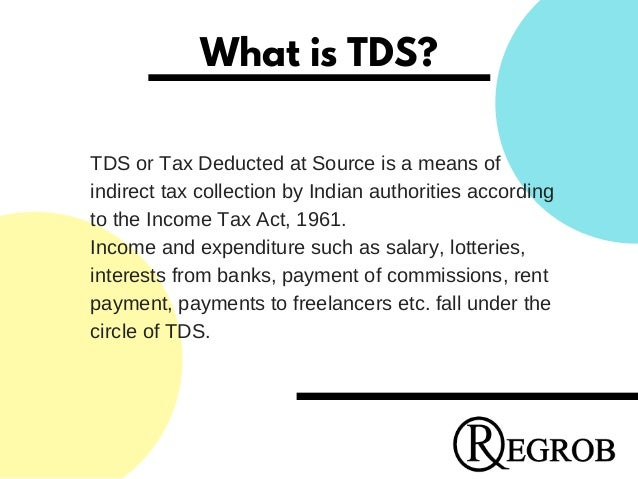 How To Deduct Tds Through Home Loan Call 9529331331
