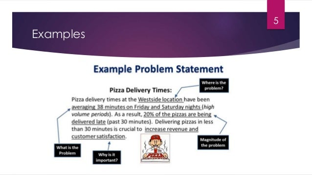 How to define business problem statement examples 5 6 flashek Image collections