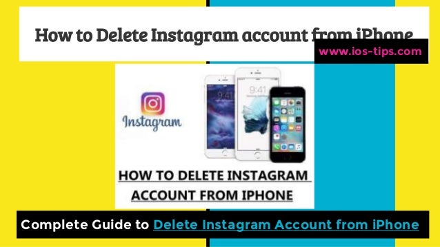 How to delete instagram account from i phone how to delete instagram account from iphone complete guide to delete instagram account from iphone www ccuart Choice Image