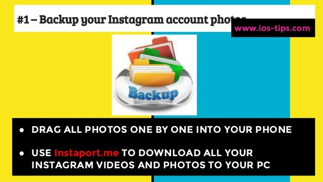 How to delete instagram account from i phone instagram delete from iphone ios tips 3 ccuart Images