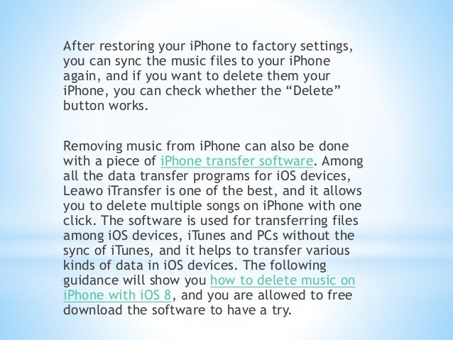 how to remove songs from iphone how to delete on iphone with ios 8 2151