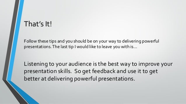9 tips for more powerful business presentations pdf