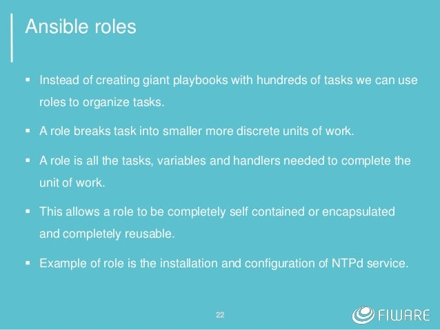 Ansible handlers in roles