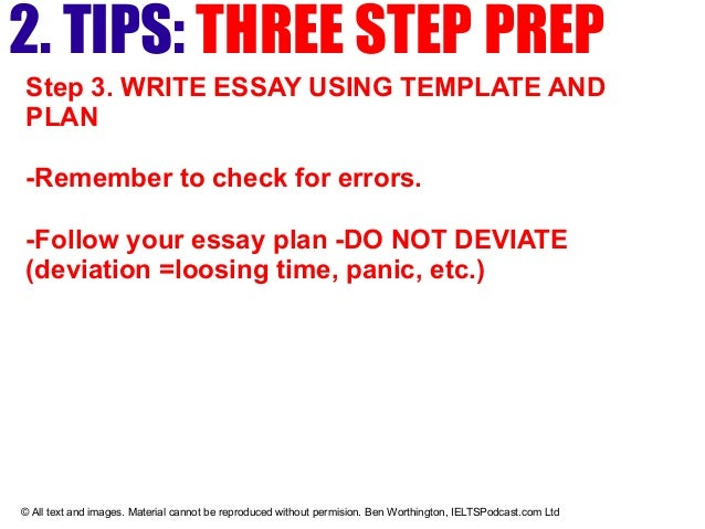 three paragraph essay example