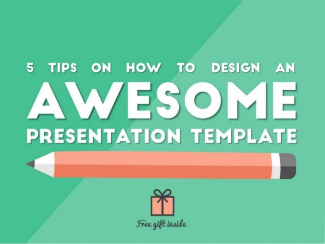 Awesome presentation design