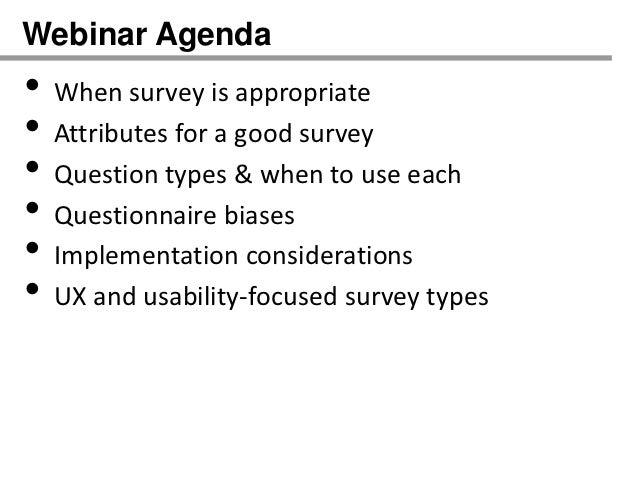 How to design effective online surveys Slide 3