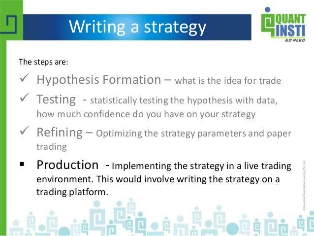 Quantitative trading strategies r