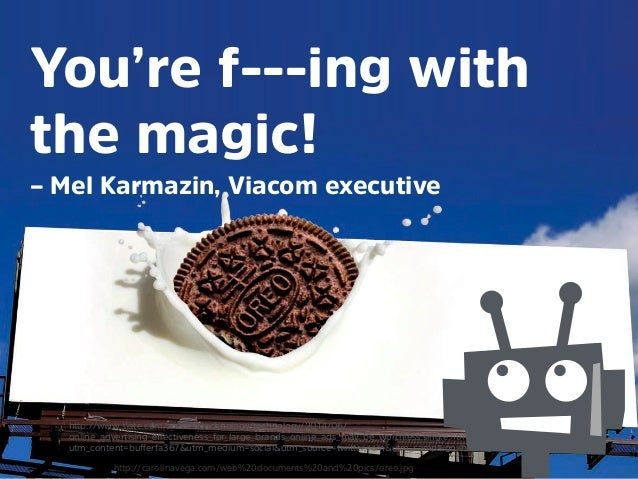 @mrjoe You're f---ing with the magic! – Mel Karmazin, Viacom executive hמּp://www.slate.com/articles/technology/technolog...