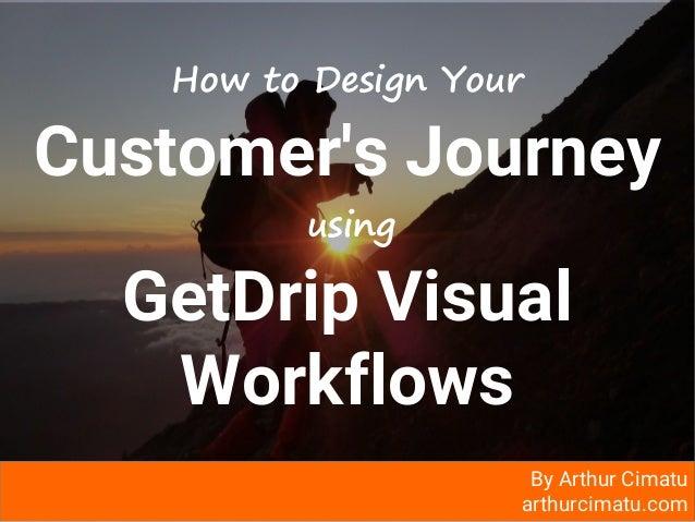arthurcimatu.com How to Design Your Customer's Journey using GetDrip Visual Workflows By Arthur Cimatu arthurcimatu.com